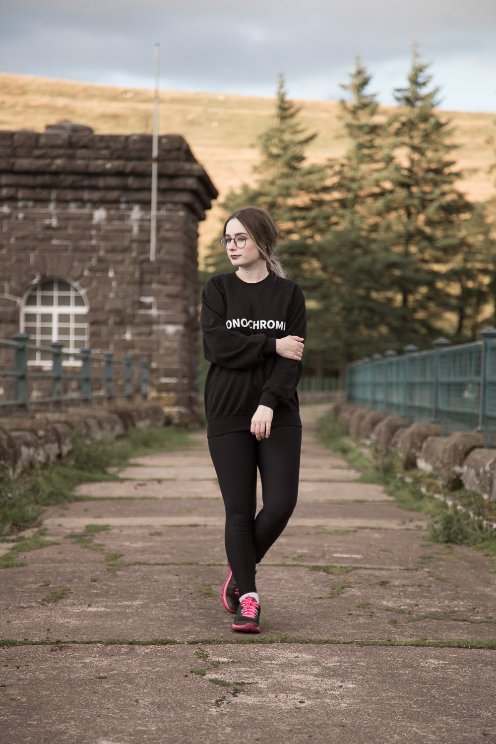The Monochrome Slogan Sweatshirt OOTD