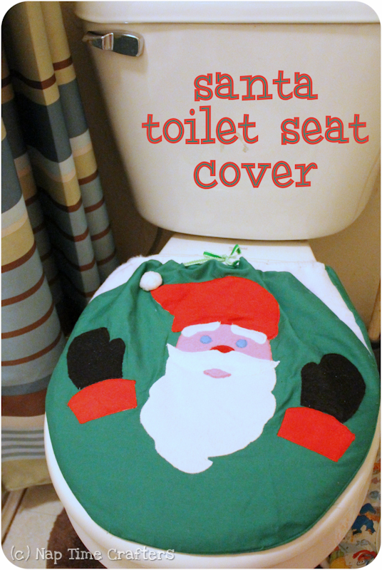 Enjoyable Santa Seat Cover Peek A Boo Pages Patterns Fabric More Theyellowbook Wood Chair Design Ideas Theyellowbookinfo