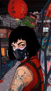 Money Heist Tokyo Anime Girl Mobile HD Wallpaper
