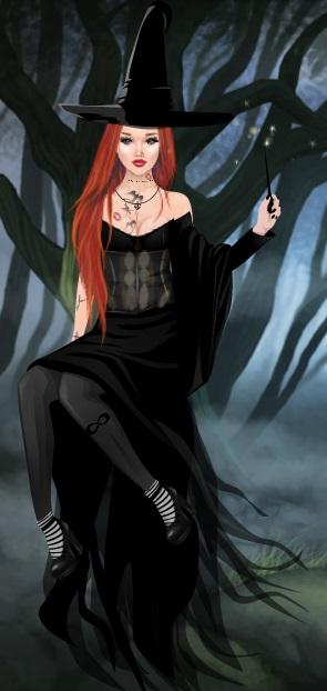 26fbfb52a 2- Eu adorei essa fantasia mas como nao sei o nome apelidei de dama da noite  ♥ se souberem o nome certo me falem