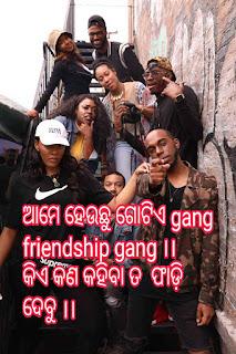 Odia friendship shayari image