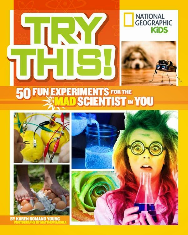 national geographic kids nonfiction science experiments