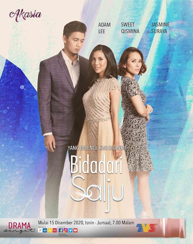 Drama Bidadari Salju Episod 1-28(Akhir) Lakonan Sweet Qismina dan Adam Lee