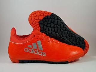 Adidas X 16.3 Futsal solar red Sepatu Futsal , jual futsal adidas , adidas x 2016, x16.3 turf, harga futsal adidas 2016