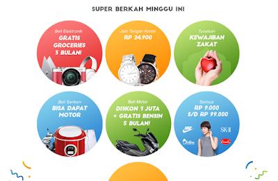 Promo Minggu Ini Matahari Mall Super Berkah
