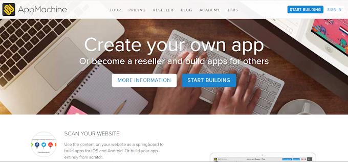 AppMachine.com Solusi Tepat Untuk Membuat Apps Tanpa Coding