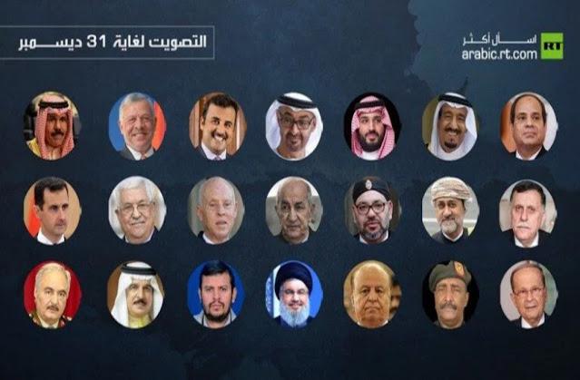 """الملك """"محمد السادس"""" مرشح بقوة للفوز بلقب """"أبرز شخصية عربية"""" ونشطاء يدعون عموم الشعب المغربي للتصويت بكثافة"""