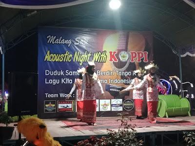 Acoustic Night With Koppi Menghibur Sambil Ajak Peduli Kemanusiaan