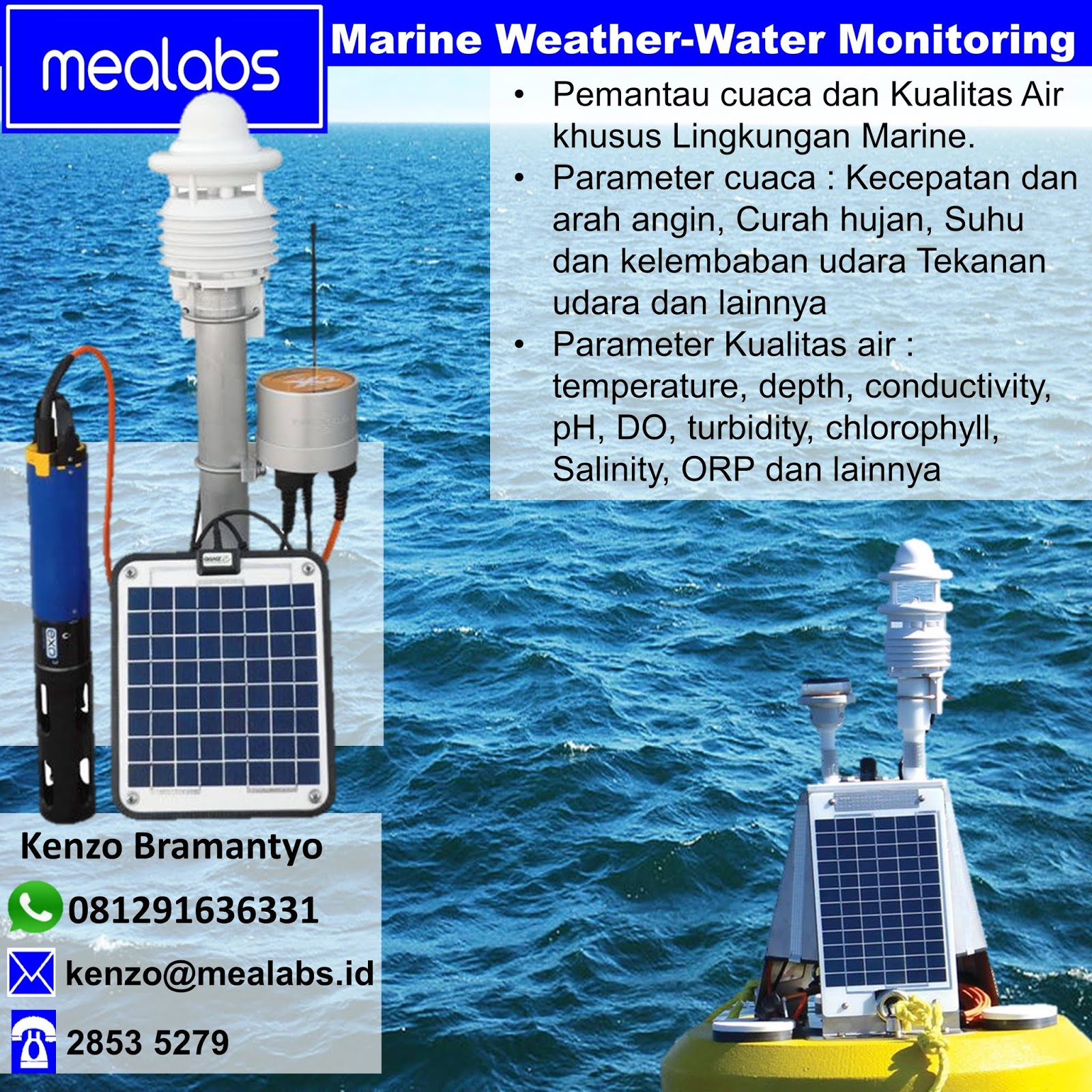 Jual Sistem Data Buoy Indonesia