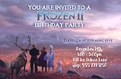 frozen 2 birthday printables online