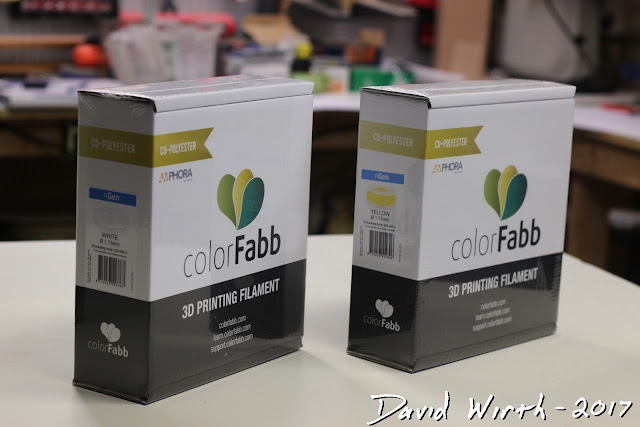 color fabb ngen printing temperature setting