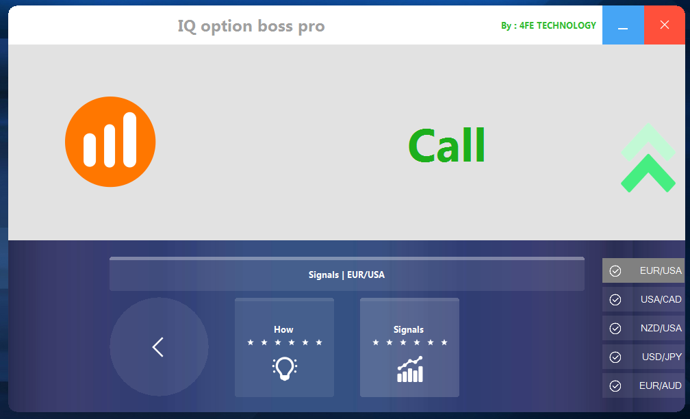 SMART TRADING - BINARY OPTIONS ATTRIBUTES: IQ OPTION ROBOT SIGNAL
