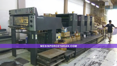 Mesin Percetakan: Heidelberg Speedmaster SM74 4 Color