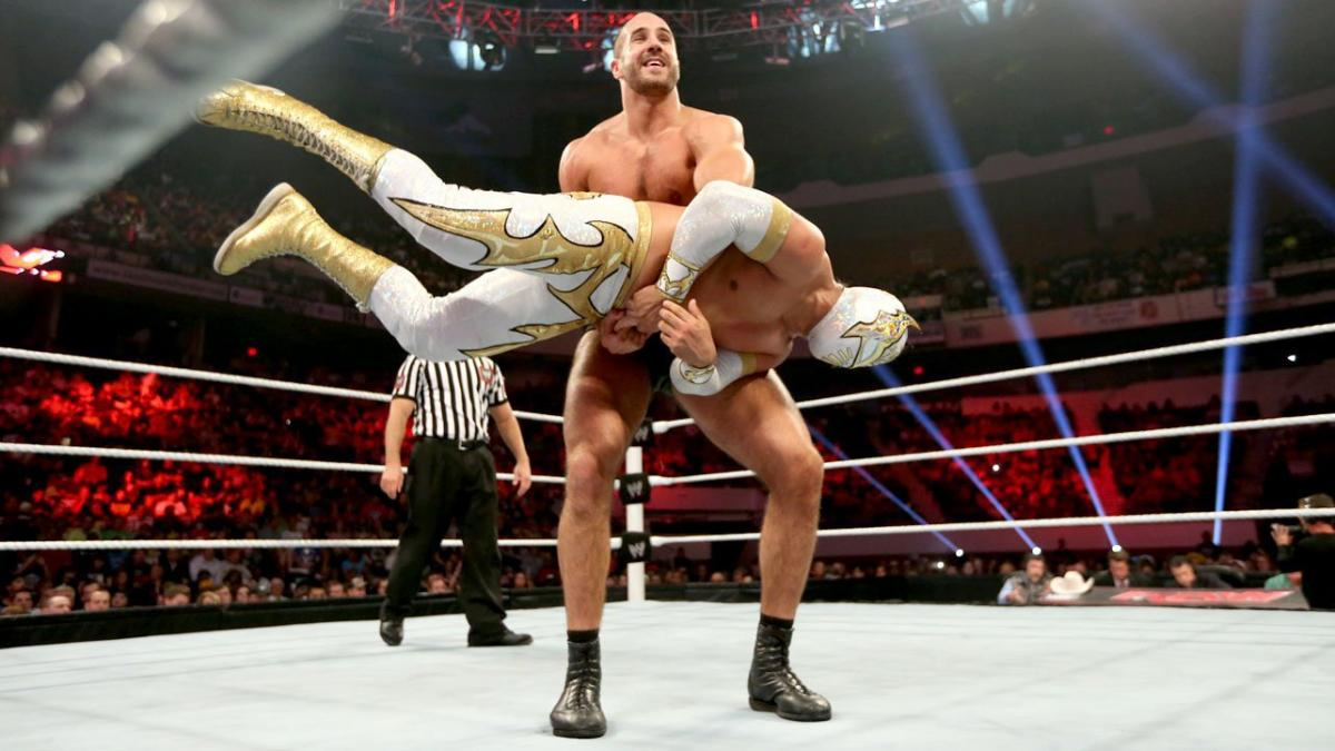 Sin Cara teve discussão com Cesaro nos bastidores da WWE