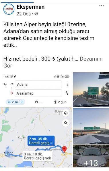 Araç Teslimi- Kilis