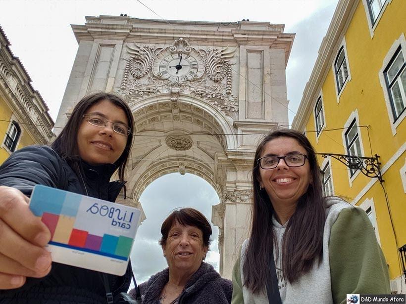 Entrada gratuita no Arco da Rua Augusta com o Lisboa Card: como usar na capital de Portugal