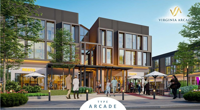 Ruko Virginia Arcade BSD City