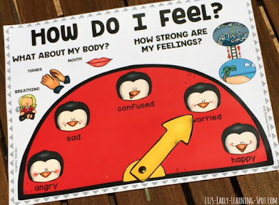 Free emotions poster for kids to express how they're feeling emotionally and physically!
