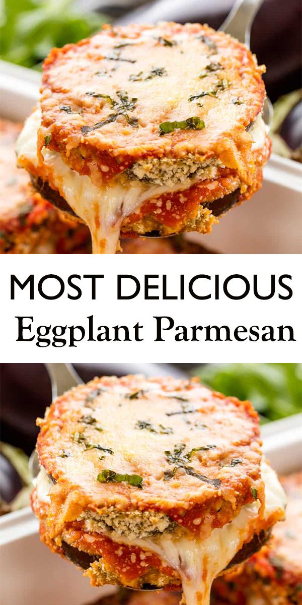 Eggplant Parmesan #Eggplant #Parmesan #dinner #recipe #EggplantParmesan #food