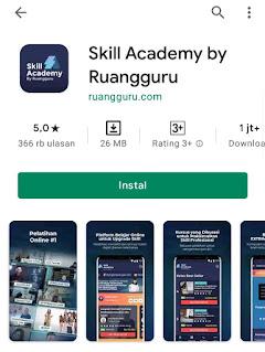 review skill academy kelas online terlengkap