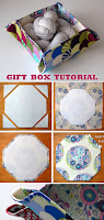 Gift Box Basket Tutorial