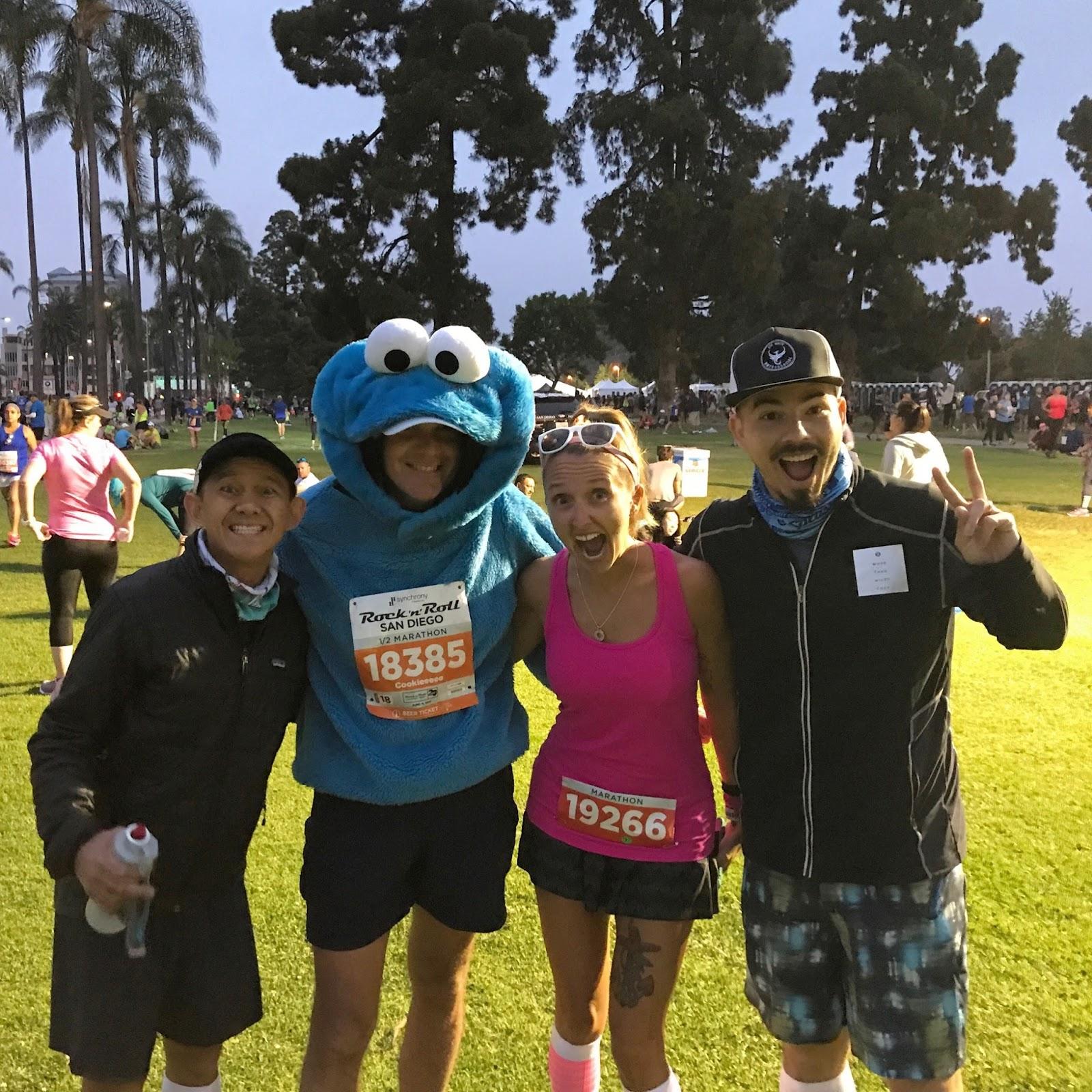 be the change: Rock 'N' Roll San Diego Marathon Race Recap