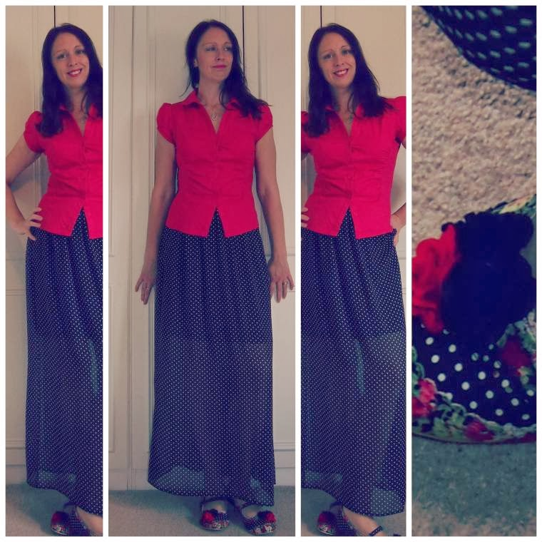 Red Shirt, Red Rug : Share Your Style Saturdays…