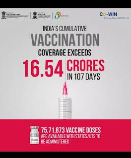 महाराष्ट्राने कोविड -18 ते 44 वर्षांच्या लसीकरणाला ब्रेक लावला आहे - Maharashtra Stops Vaccination for 18 to 45 Years old