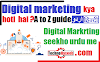 Digital Marketing kya hai? - Online marketing in urdu hindi