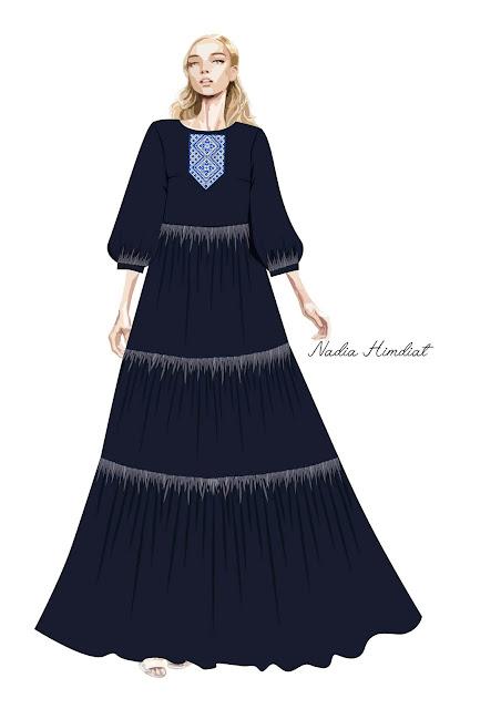 Платье. Модель PL- 163