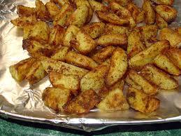 تحضير بطاطس صغيرة في الفرن