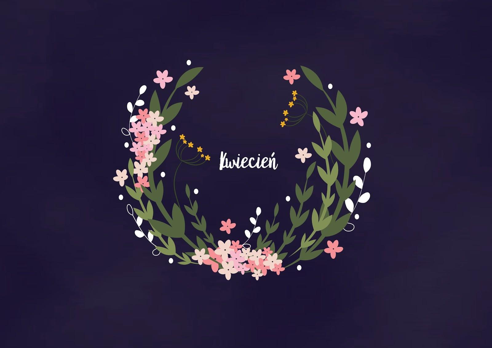 Tapeta na kwiecień