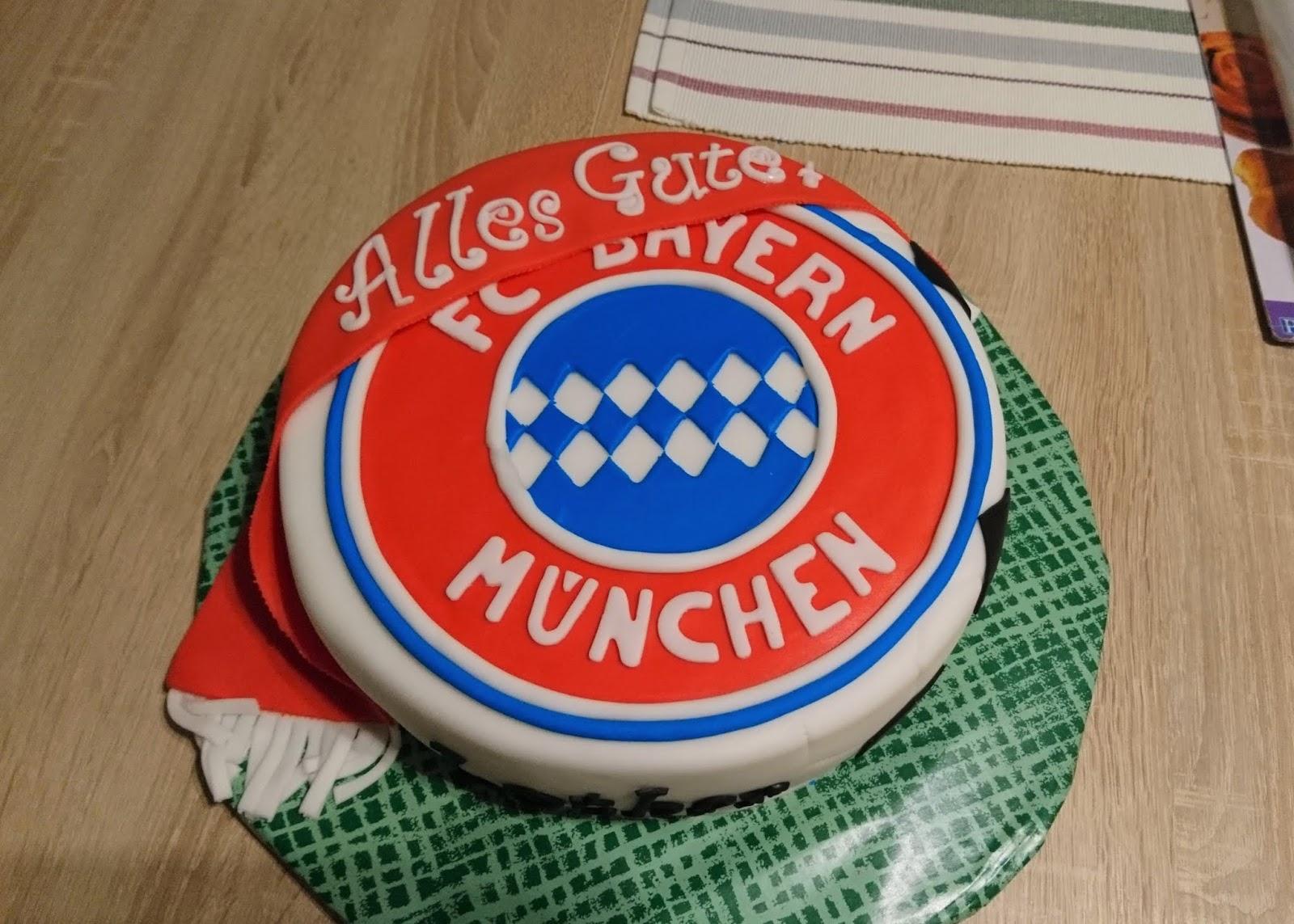 Backen Macht Freude Fc Bayern Munchen Torte