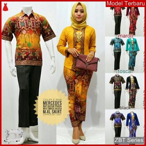 ZBT03709 Kebaya Batik Couple Mercedes Formal Modern BMGShop