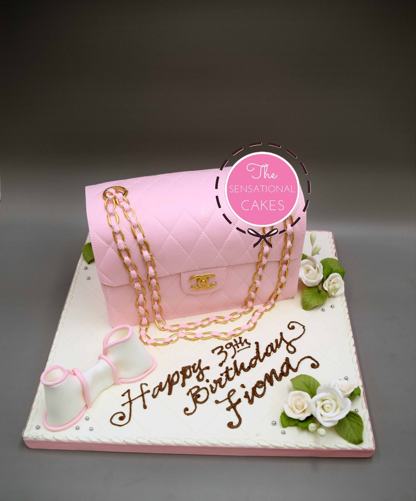 The Sensational Cakes Pink Channel Cake 39th Fina Singapore