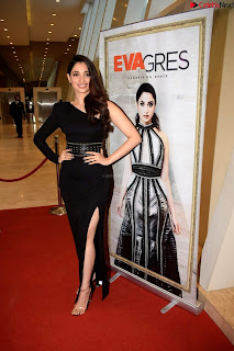 Beautiful Milky white Tamanna Bhatia in Black dress at Qutone New nd Launch ~ .xyz Exclusive 005.jpg