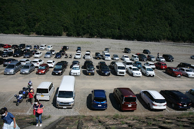 熊野本宮大社の駐車場