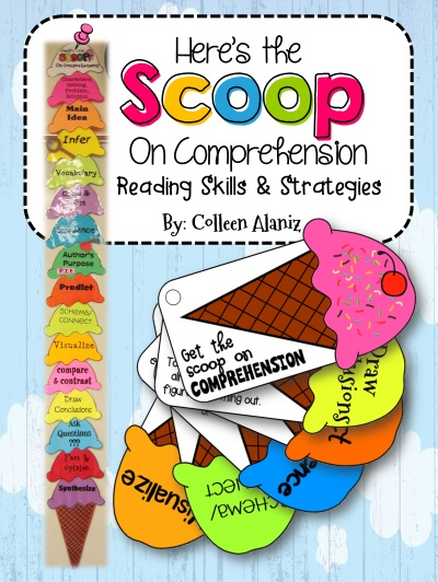 https://www.teacherspayteachers.com/Product/Ice-Cream-Scoop-Comprehension-Strategies-224238