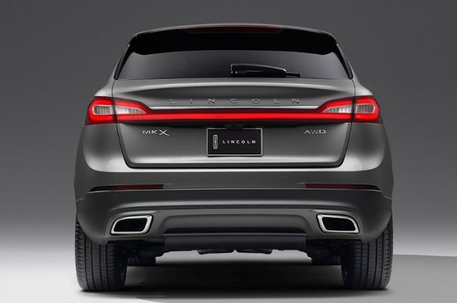 2018 Lincoln MKX Back