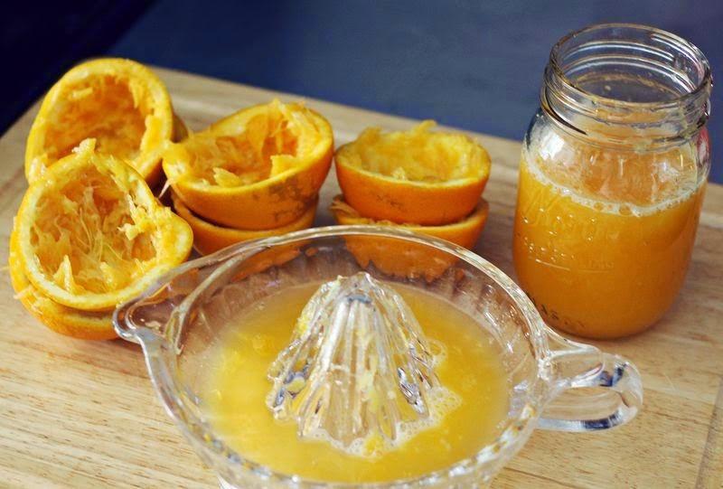 كيف تصنعين ايس كريم البرتقال