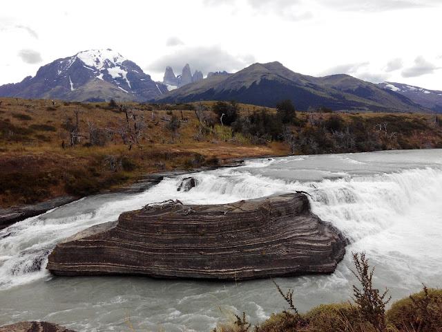 Cascada Paine ,Torres del Paine
