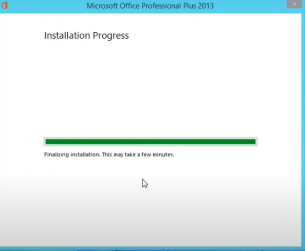 Hướng dẫn cài đặt Word 2013 Professional Plus chi tiết thành công h