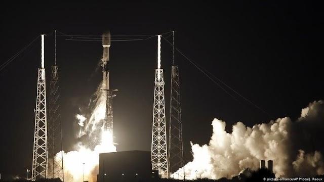 Detik detik Peluncuran 60 Satelit SpaceX