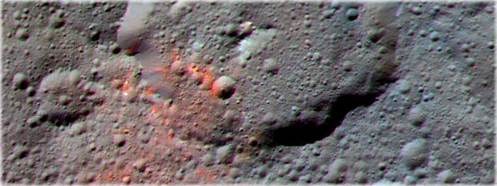 moléculas orgânicas encontradas em Ceres