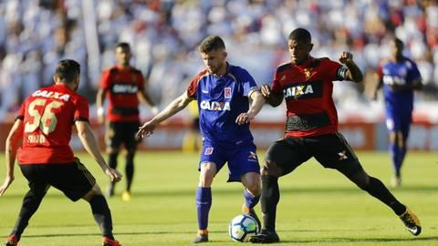 Paraná segue sem pontuar no Brasileirão 2018. Foto  Globoesporte.com. b9741ed26fd33