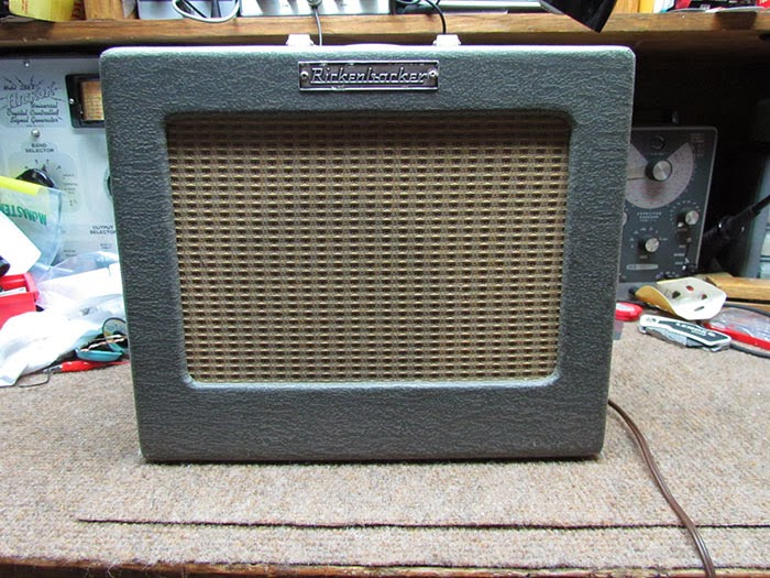 1958 rickenbacker m 8 amplifier crawls backward (when alarmed)this one is a 1958 rickenbacker m 8 these seem to be the most common rickenbacker amp out there i\u0027ve seen these more than their larger amps