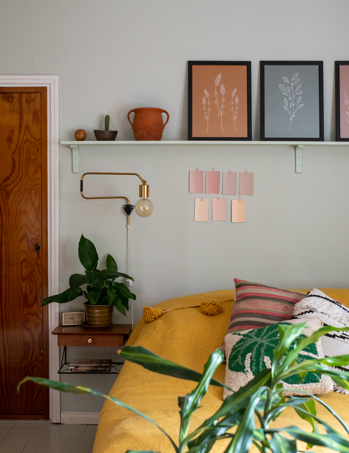 makuuhuoneen maalivalinta