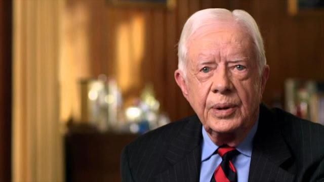 """Carter: Trump no puede brindar """"justicia a los palestinos"""""""