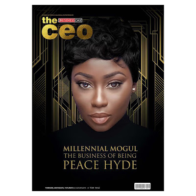Millennial Mogul Peace Hyde Celebrated Graces The Cover Of Nigeria's Business Day Magazine