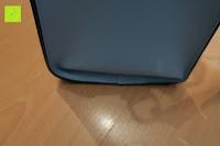 unten: Veevan Damen Elegante Top-Handle Schultertasche Handtaschen (Blau)